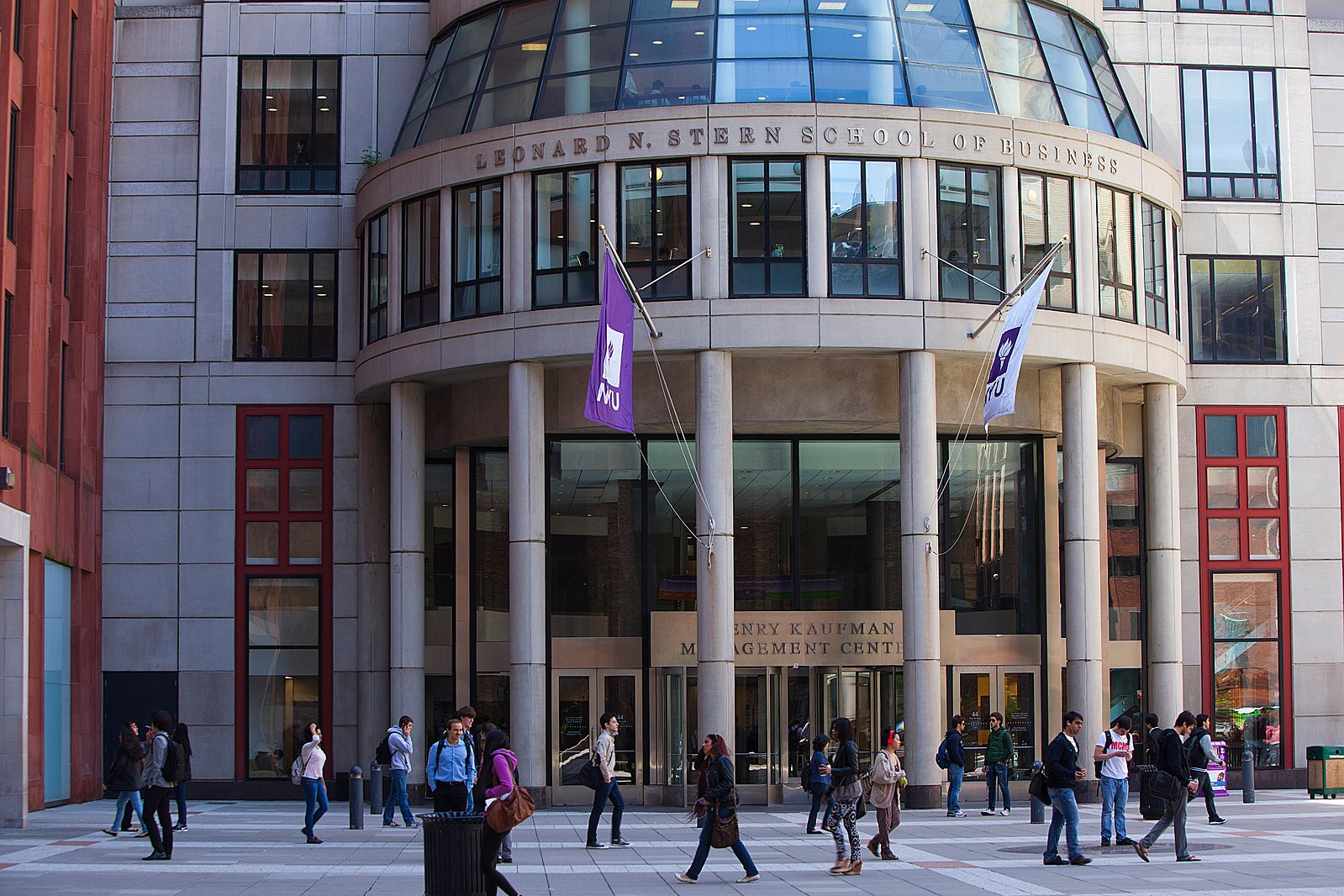 Visit NYU's urban campus by renting a charter bus.