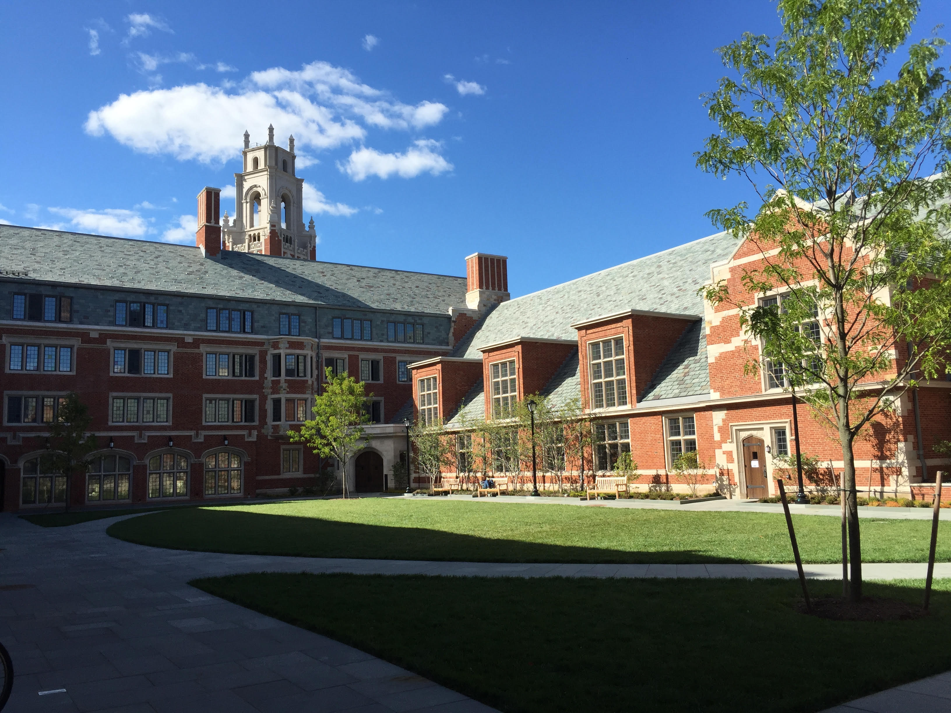 Organize a group visit of Yale's campus, and get there with a charter bus rental.