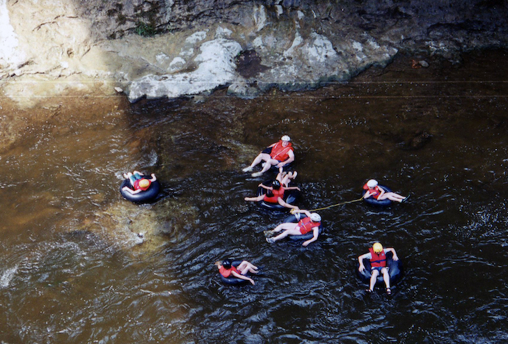 Rent a Toronto charter bus to go tubing in Elora Gorge.