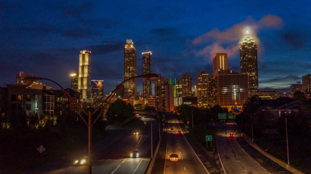 Explore Atlanta with a charter bus rental.