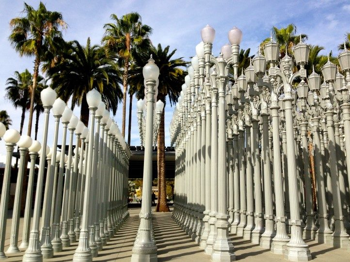 Where to park your charter bus rental at the Los Angeles County Museum of Art.