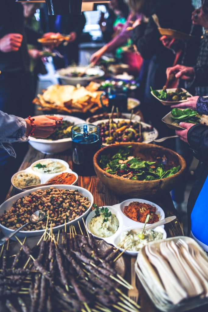 Treat your staff with a potluck dinner and bus rental commute back home.