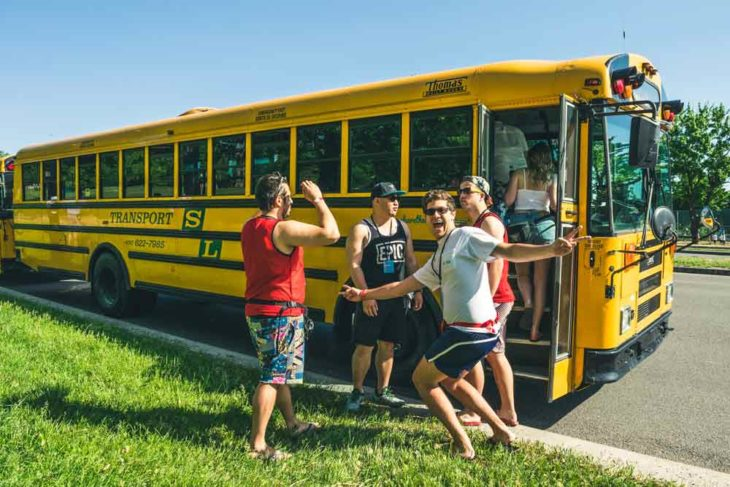 Rent a charter bus for your student trip.