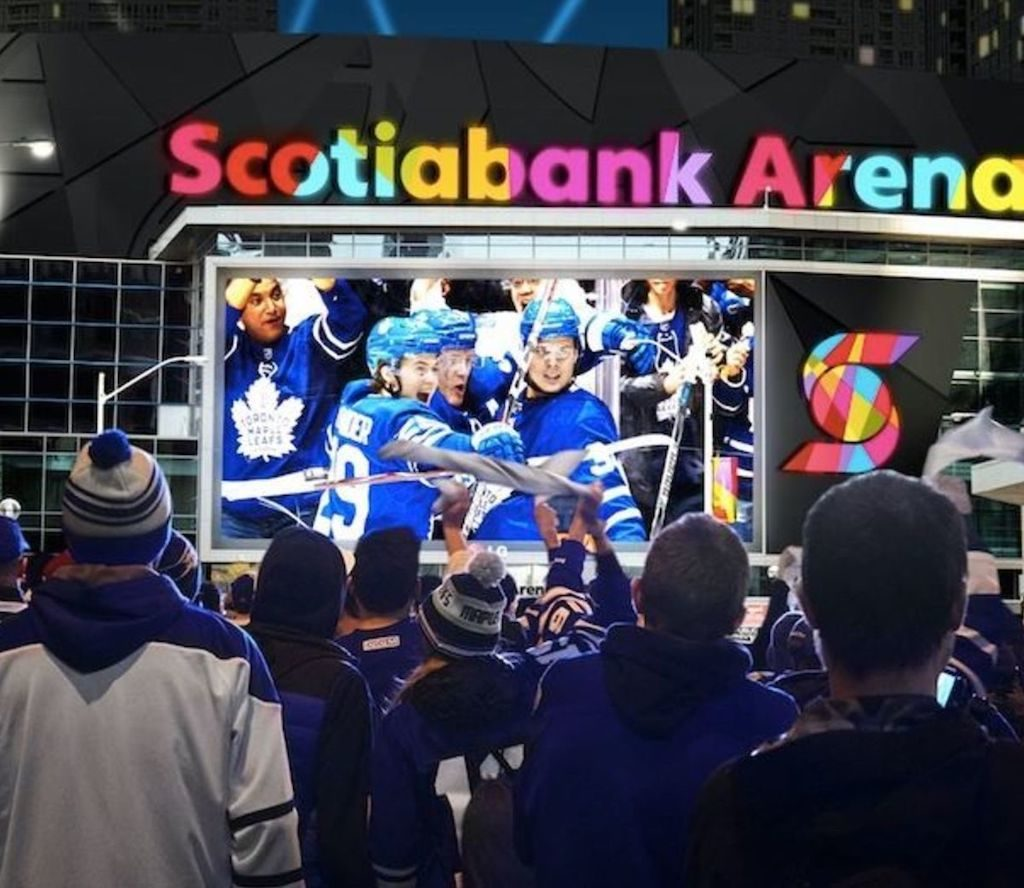 Scotia Bank Arena Charter Bus Rentals