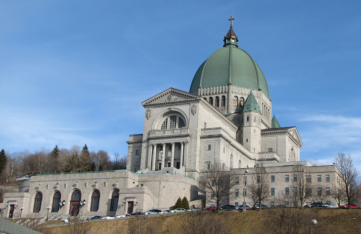 Rent a charter tour bus to St. Joseph's Oratory in Montreal.
