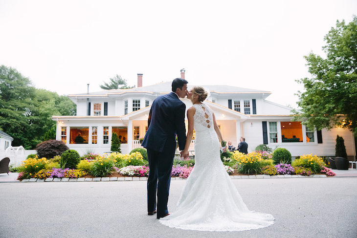 Transport guests to your remote Boston wedding venue in a shuttle bus rental.