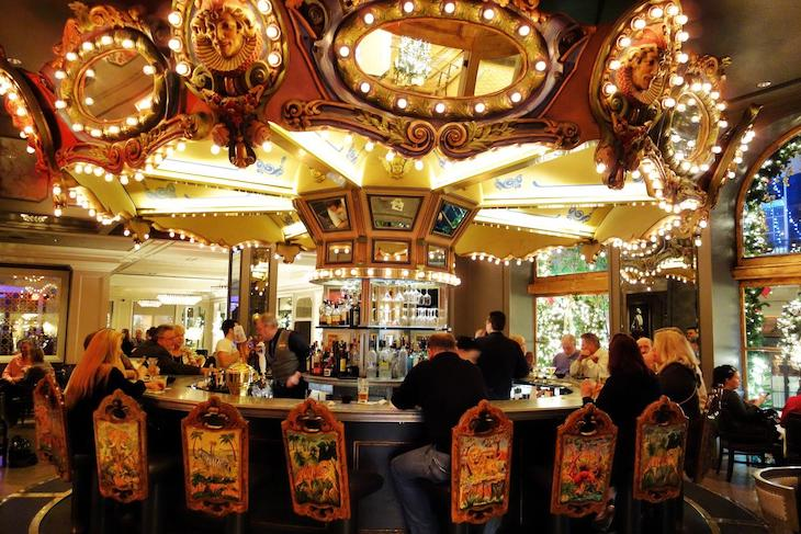 Visit the Carousel Bar and Lounge in New Orleans on your American literature bus tour.