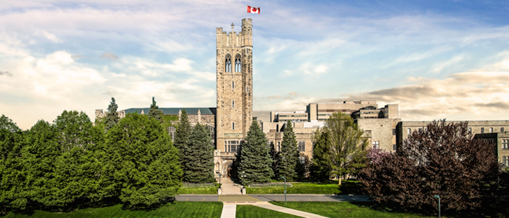 Rent a bus to the University of Western Ontario for your university campus tour.