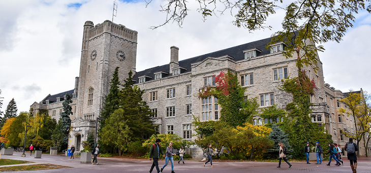 Rent a bus for your University of Guelph campus tour.