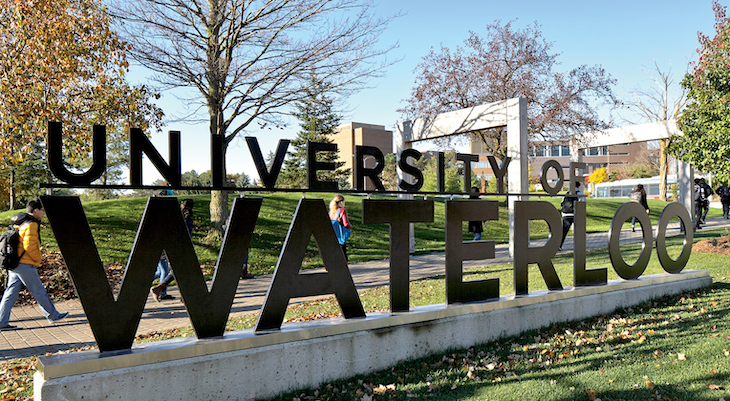 Rent a bus for your University of Waterloo university campus tour.