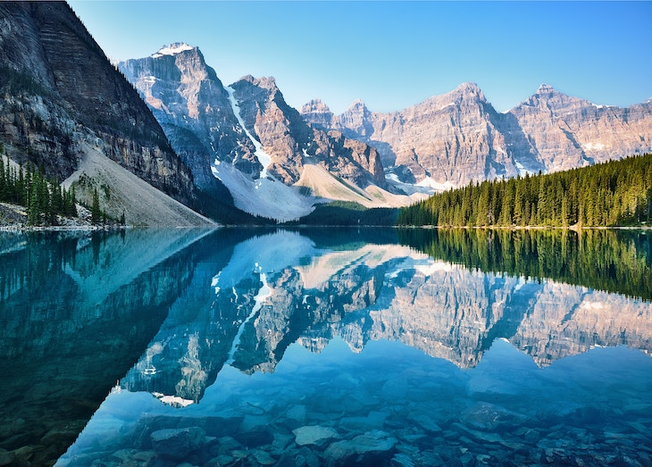 Rent a bus for your tour of Banff and Lake Louise.