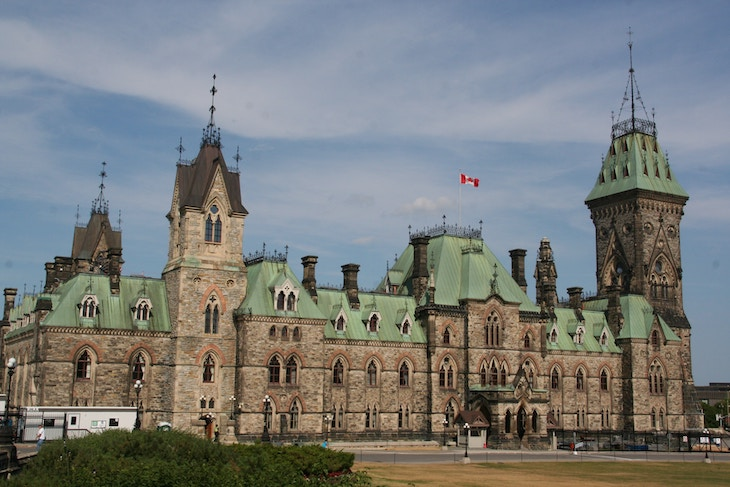 Rent a charter bus for the Ottawa leg of your Canadian road trip.
