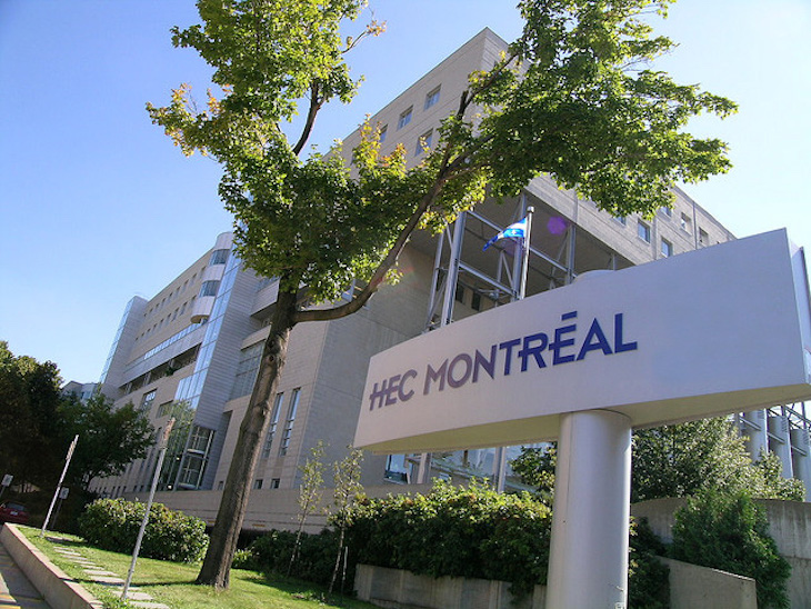 Rent a charter bus for your HEC Montreal campus tour.