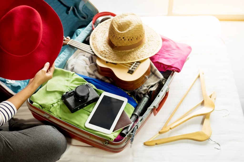 How to pack everything into carry-on luggage.