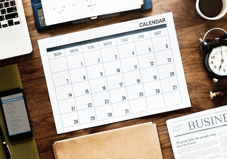 Pick the right dates for your big event.