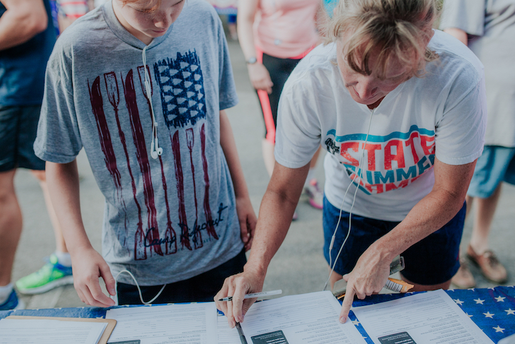 How to plan your registration and sign-in station at your event.