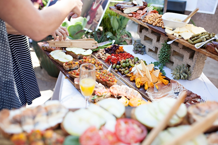 Hire a caterer for your event