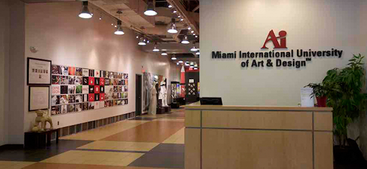 Rent a charter bus to Miami International University of Art and Design.