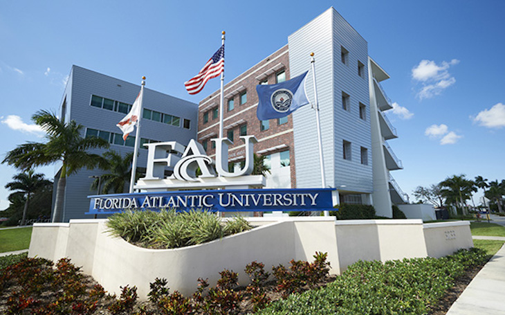 Rent a charter bus to Florida Atlantic University.
