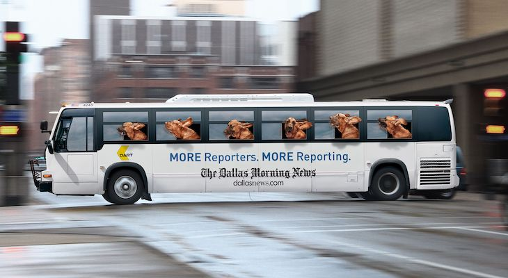 Customize your bus campaign with a branded bus wrap.