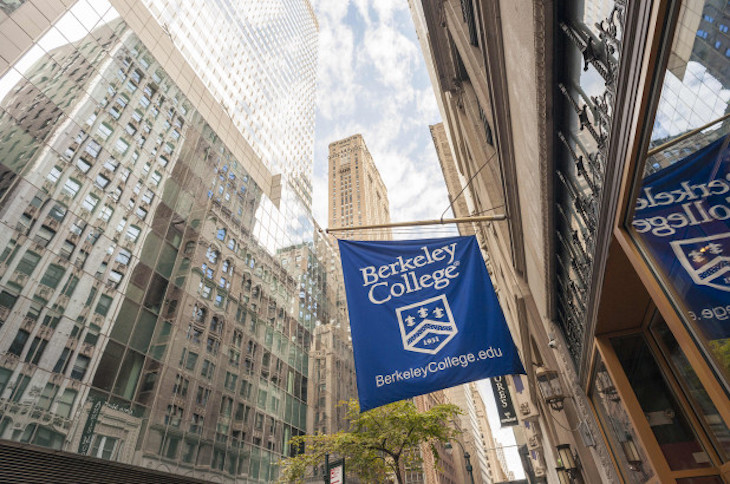 Rent a charter bus to Berkeley College on your NYC university campus bus tour.