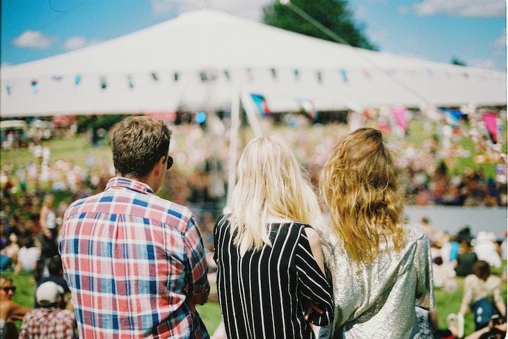 Festival going tips.