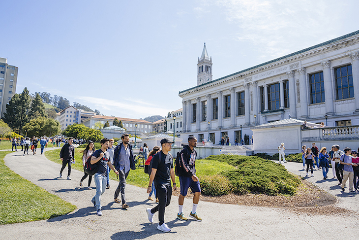 Rent a San Francisco student charter bus to University of California Berkeley.
