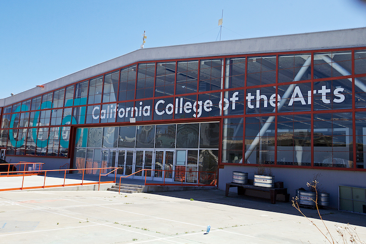 Student charter bus rentals to California College of the Arts San Francisco.