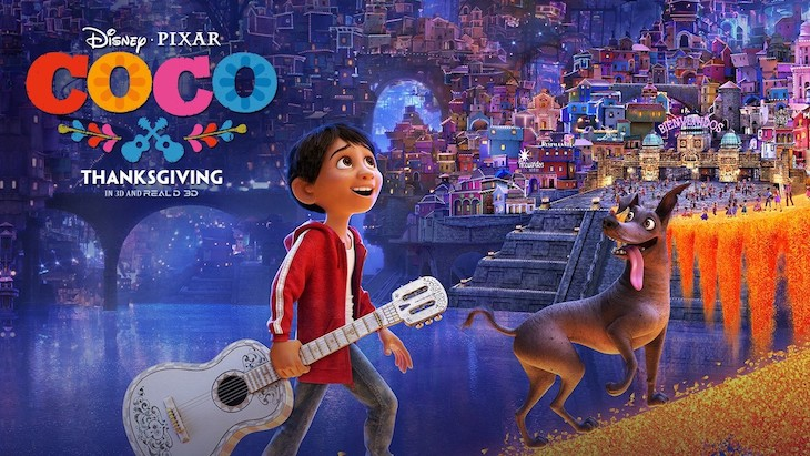 Coco is a great kids movie to watch on long bus trips.