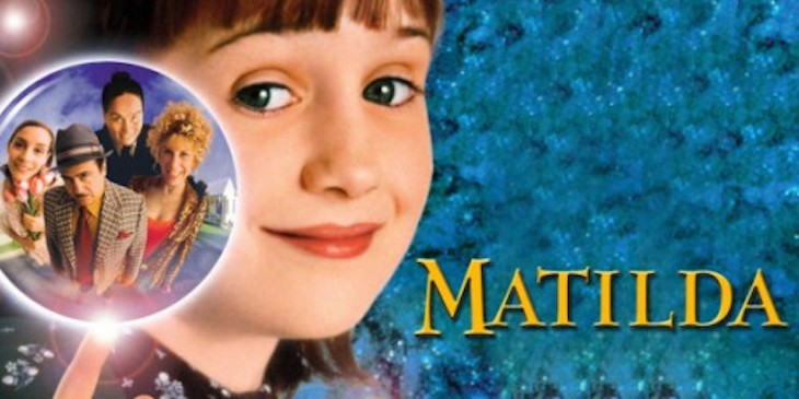 Matilda is one of the best kids films to watch on long bus rides.