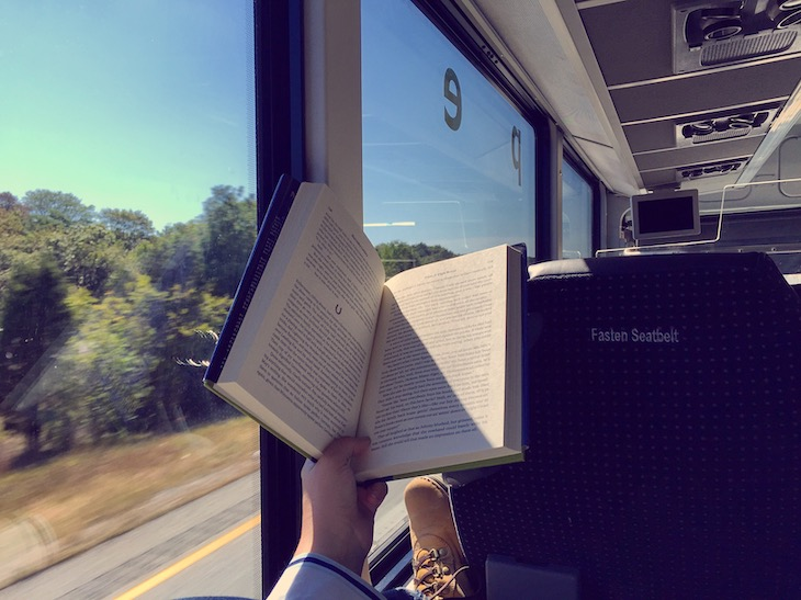 Bring a book for your long bus ride.