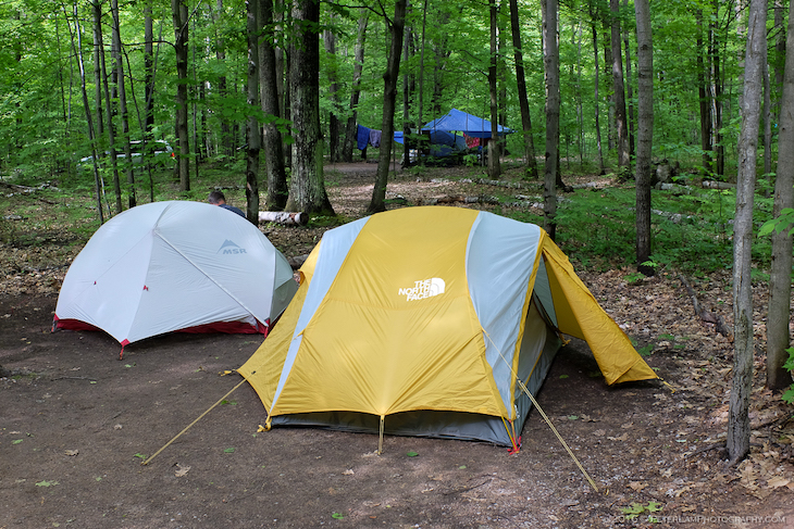 Charter bus rentals to campsites near Toronto.