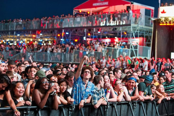Book rideshare seats to Osheaga Music Festival from Toronto.
