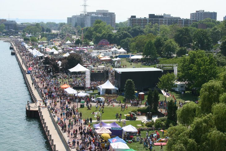 Toronto music festivals during summer 2019.