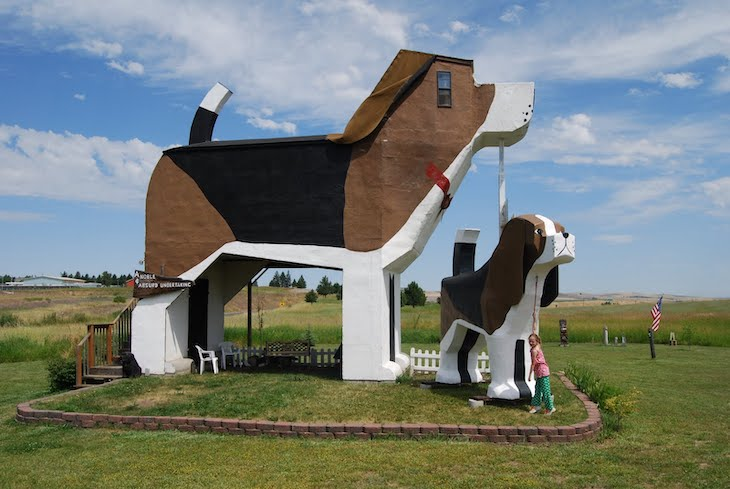 Bus tours to weird USA roadside attractions.