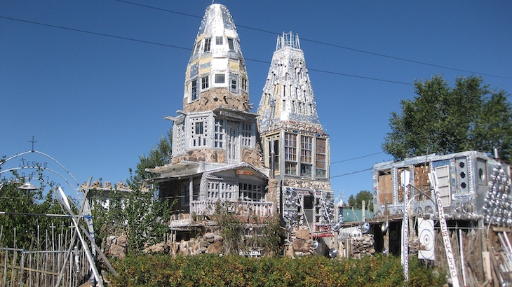 Rent a charter bus to visit Colorado's weirdest roadside attractions.