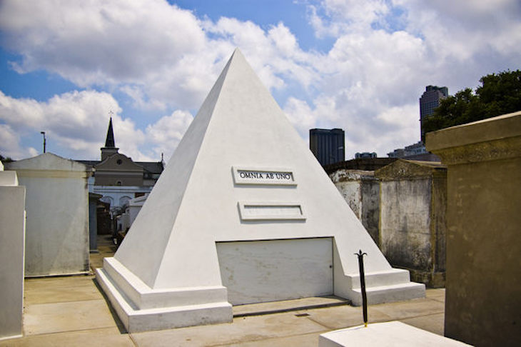 Charter bus rentals to Nicholas Cage's tomb.