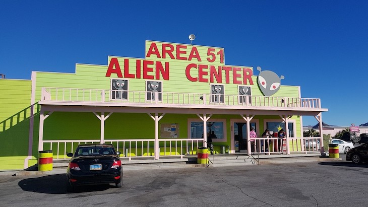 Charter bus rentals to Area 51.