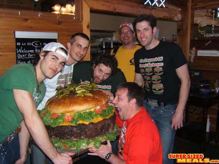 Charter bus rentals to the World's Largest Burger.