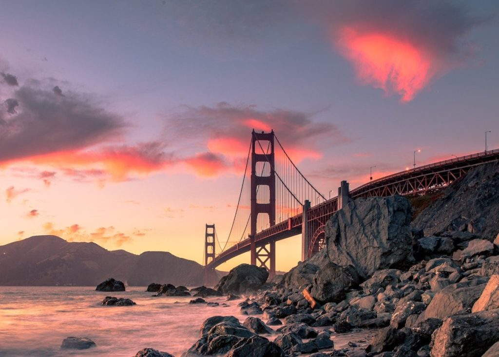 Rent a charter bus for your San Francisco weekend trip.