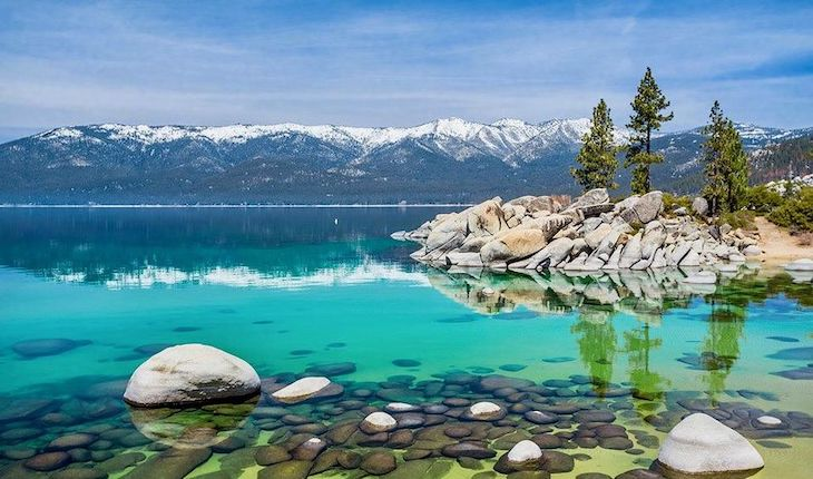 San Francisco charter bus rentals to Lake Tahoe.