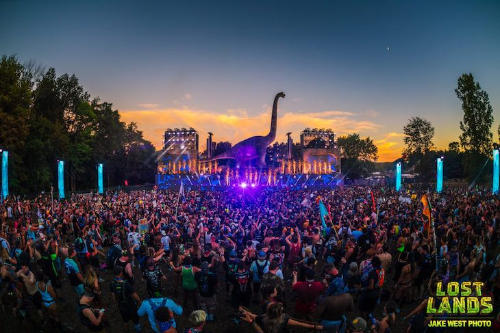 Book your transportation to Lost Lands music festival.