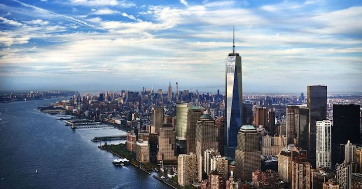 NYC charter bus rentals to One World Observatory.