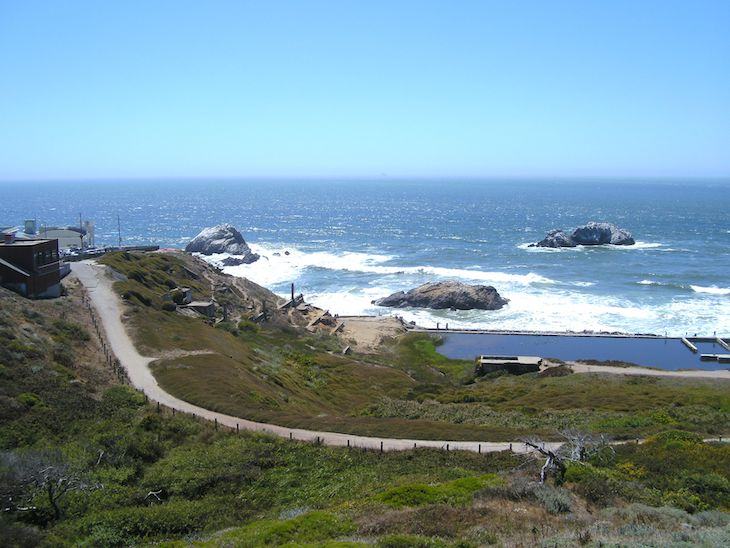 Lands End Lookout San Francisco charter bus rentals.