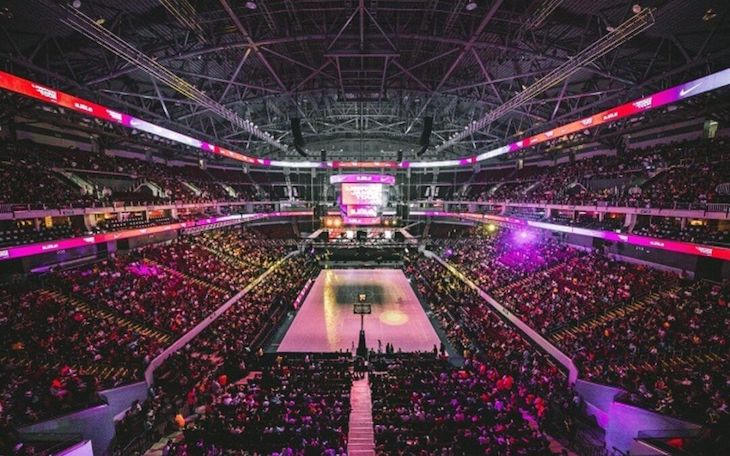 Miami charter bus rentals to American Airlines Arena