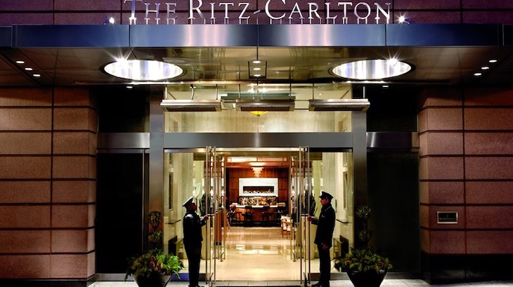 The Ritz Carlton is perfect for your corporate group.