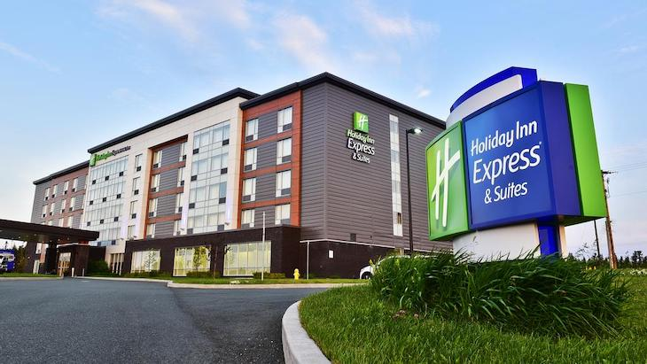 Holiday Inn Express is perfect for sports teams.