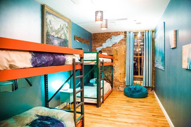 Hostels are perfect for accommodating student groups.
