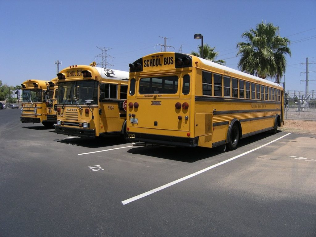 Organize group charter bus loading points.