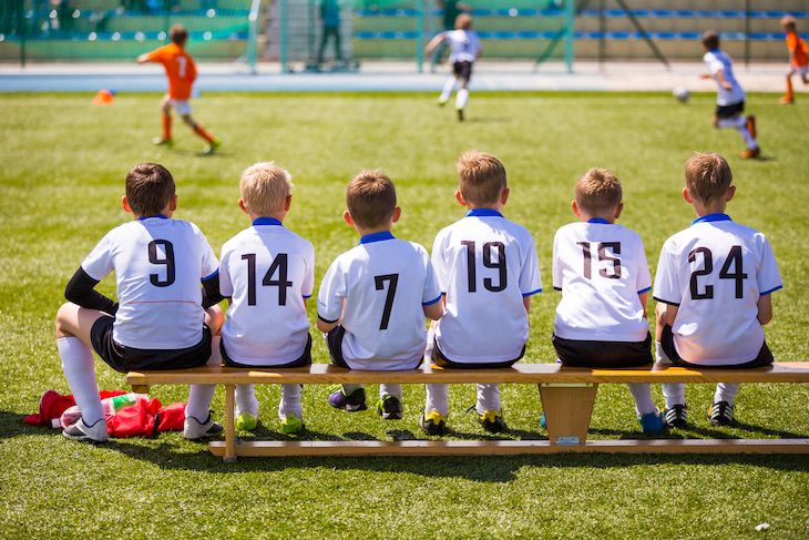 Charter bus rentals for kids' sports teams.